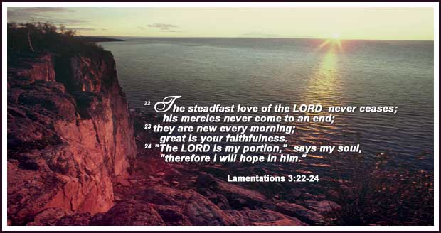 God's love for YOU love never ceases!   Word Blessings   Scripture memory